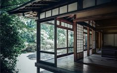 Japanese design is steeped in custom, but still carefully advanced. Japanese Style House, Traditional Japanese House, Japanese Interior Design, Japanese Design, Asian Architecture, Sustainable Architecture, Architecture Design, Pavilion Architecture, Residential Architecture