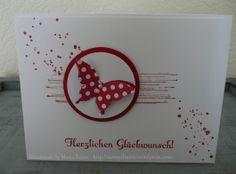 Geburtstag oder Glückwunschkarten - . . . . . . .  Stempelmarie im Kreis Düren . . . . . . .