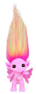 ZELFS Medium Size Pega Sue Doll  This rainbow-toned mane with a genius brain is always perched atop shady shed. She ponies up an answer for every question. There's 12 medium size dolls to collect, including the ultra rare Clover Zelf. Each style of Zelf has a unique personality and power mark and comes with hair-riffic styling accessories and comb to keep those wayward locks in line. There's even a cute charm which can be worn by the Zelf or yourzelf.