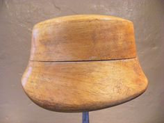 Vintage wooden hat block