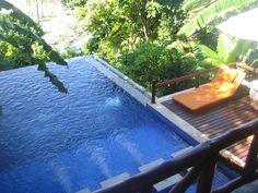 Hillside pool villa at phi phi island village