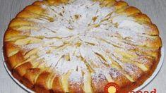 Jablkový koláč, ktorý sa roztápa v ústach: Pár prísad a všetci hostia si pýtali na recept! Russian Recipes, Apple Pie, Food And Drink, Cooking Recipes, Sweets, Cookies, Baking, Apples, Basket