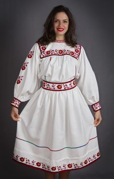 Bohemian fashion - Romanian blouse