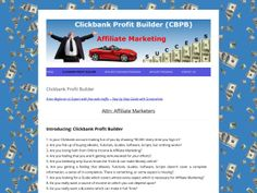 ① CB Profit Builder Step By Step Guide From Beginner To Expert - http://www.vnulab.be/lab-review/%e2%91%a0-cb-profit-builder-step-by-step-guide-from-beginner-to-expert