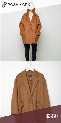 Isabel Marant Caban coat In great condition No signs of wear or smell Oversized fit  Size 34 Isabel Marant Jackets & Coats Pea Coats