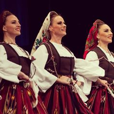 Serbian costume of Upper Pčinja (Southern Serbia ) Nosnja Gornje Pcinje *Nacionalni ansambl KOLO foto: Jelena Janković