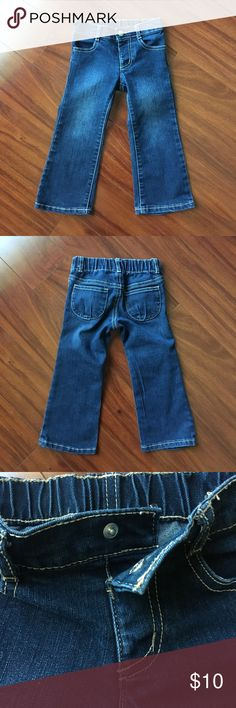 Gymboree toddler jeans 2T EUC Gymboree jeans. Elastic waistband. Snap closure. No zippers! No rips, tears, or stains. Smoke free home. Gymboree Bottoms Jeans