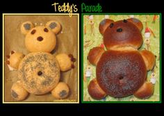 Sweet and That's it: Worldwide Teddy's Parade - La Parata degli Orsacchiotti Bagel, Yummy Food, Bread, Sweet, Desserts, Recipes, Candy, Tailgate Desserts, Deserts