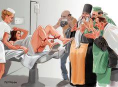 ¡¿Hacia dónde se dirige nuestro mundo?! 11 ilustraciones sorprendentes de la sociedad actual.