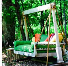 02132011 – Outdoor Sofa Swing 02132011 - Outdoor Sofa Swing – The Knot