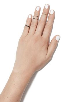 Stacked Midi Ring