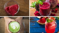 stres Healthy Drinks, Watermelon, Smoothies, Fruit, Vegetables, Breakfast, Boards, Diet, Smoothie