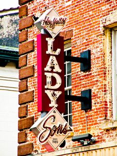 The iconic sign at The Lady & Sons in Savannah, GA