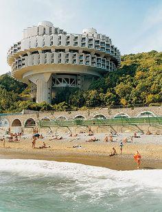 Very 60's James Bond-ish - Soviet architecture