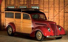 1937 Ford Woodie Custom Station Wagon