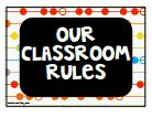 WBT revised classroom rules {freebie}