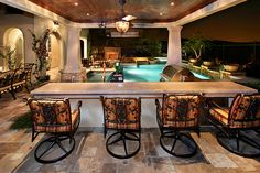 Patio with pool