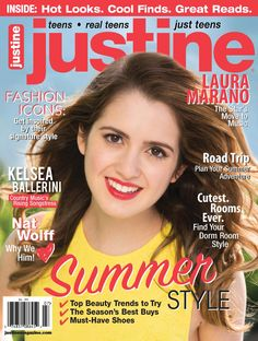 Say hello to June/July COVER GIRL @DisneyChannel #AustinandAlly @lauramarano! Gonna be a #JustineLaura filled summer!