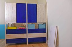 Are your closets overflowing? Hide your stuff beautifully by using one of these stylish IKEA IVAR storage hacks. Ikea Storage, Storage Hacks, Locker Storage, Ikea Ivar Cabinet, Ikea Cabinets, Unfinished Wood Chairs, Ikea Toys, Painted Closet, Best Ikea