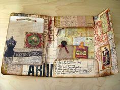 Becky's Scrapbook Burblings: 7Gypsies Portfolio