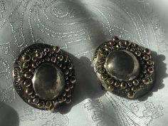 CHIC BOUCLES D'OREILLES CLIPS VINTAGE signée SIDNEY CARRON made in France   Bijoux, montres, Bijoux fantaisie, Boucles d'oreilles   eBay!