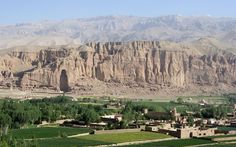 Bamiyan Valley In Afghanistan.
