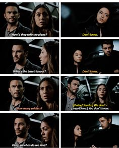 Daisy Lincoln Joey Yo-Yo Agents of Shield 3x17 The Team