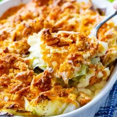 Italian Sausage Rigatoni with Spicy Cream Sauce - Spicy Southern Kitchen Veggie Side Dishes, Vegetable Sides, Food Dishes, Baked Cabbage, Cabbage Salad, Roasted Cabbage, Easy Casserole Recipes, Casserole Dishes, Chicken Casserole