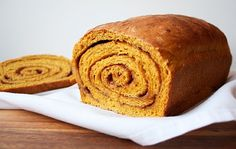 """This is technically """"pumpkin spice,"""" only more with more bread and more swirl.  Get the recipe.   - Delish.com"""