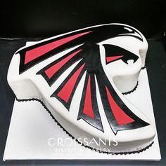 Atlanta Falcons Groom's Cake