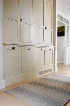 (photo courtesy of Matthew Mead)So many of you ask about our paint colors! Here is a detailed, room-by-room guide (with photos of all the nooks Shadow White Farrow And Ball, Farrow And Ball Paint, Shed Paint Colours, Exterior Paint Colors, Floor To Ceiling Cabinets, Shiplap Ceiling, Exterior Door Trim, Wimborne White, Built In Cupboards
