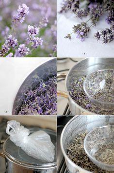 DIY návod: levandulová a meduňková květinová voda - gather moments Lavender, Soap, Cosmetics, Homemade, Health, Zero Waste, Chemistry, Health Care, Hand Made