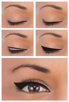 Delinear ojos