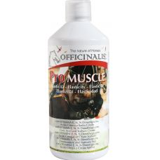 Pro Muscle geeft spieren elasticiteit dankzij de samenstelling die rijk is aan vitamine E, selenium, citroenzuur en natriumcitraat die belangrijk zijn om de grote hoeveelheid uitgescheiden melkzuur te verminderen tijdens intensieve training en helpt de spieren en het spier- en skelet systeem goed te laten functioneren. De calcium en magnesium opgenomen in Pro Muscle voorkomt krampen en stijve spieren.