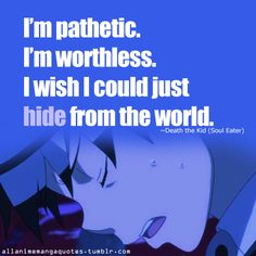 soul eater quote ~death the kid