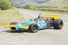 Vintage Formula 1 Car 10 740x492 1970 Brabham Cosworth Formula 1 Car