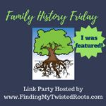 Come join us at our new Family History Friday Link Up Party. Please come add your family history blog links. We love helping others find ancestors!