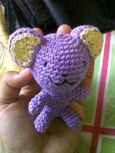 Ravelry: Purple Ami Bear pattern by Sita Wardhany