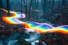 swissmiss   Rainbow Long Exposure Photography