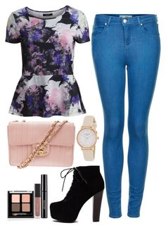 """Pretty"" by maevaxstyle ❤ liked on Polyvore featuring VILA, Topshop, Chanel and Kate Spade"