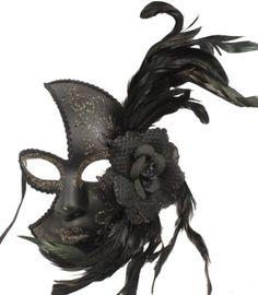 Victorian Gothic Venetian Masquerade