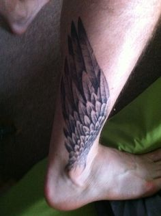 Wing tattoos fully healed, I have a matching pair on my ankles