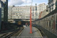 1990 - Last Days at Holborn Viaduct East End London, Old London, West London, Disused Stations, British Rail, Odd Stuff, Cuttings, Emu, London England
