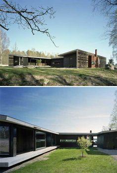 Coastal Homes | H-House: A Heavenly Home | Busyboo