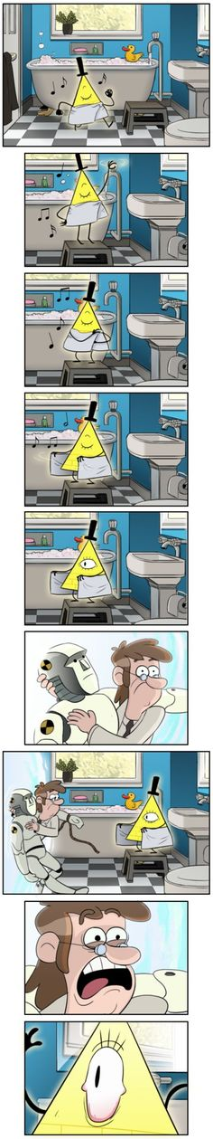 When Gravity Falls and Earth become sky, Fear of the Being with just one eye!