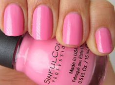 Sinful Colors Cotton Candy | Sugar Rush Collection