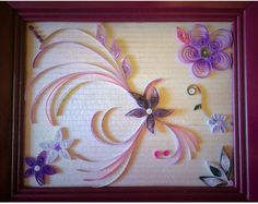 Flower Paper Quilling