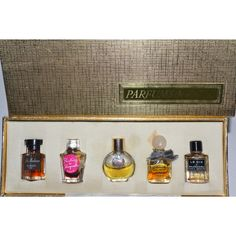 Vintage Parfums de Paris Mini Set