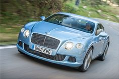 Bentley continental powder blue - Google Search