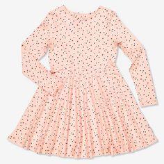 Lasten pilkullinen mekko | Polarn O. Pyret